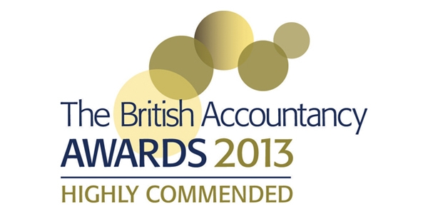 british accountancy awards winner 2013