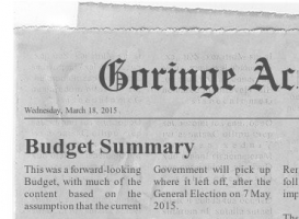 accounting newsletter budget march 2015