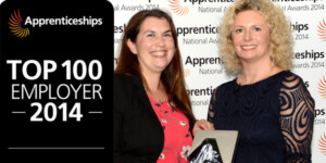 National Apprenticeship Small Employer of the Year